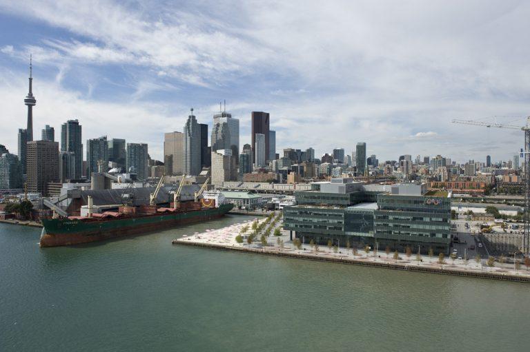 Toronto-Waterfront-Port Lands-Villiers Island-Don River