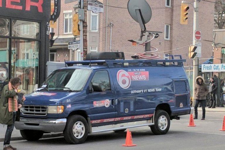 Gotham City News Truck