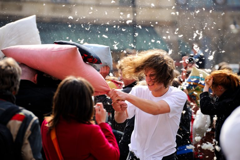 Toronto-pillow-fight-International-Pillow-Fight-Day