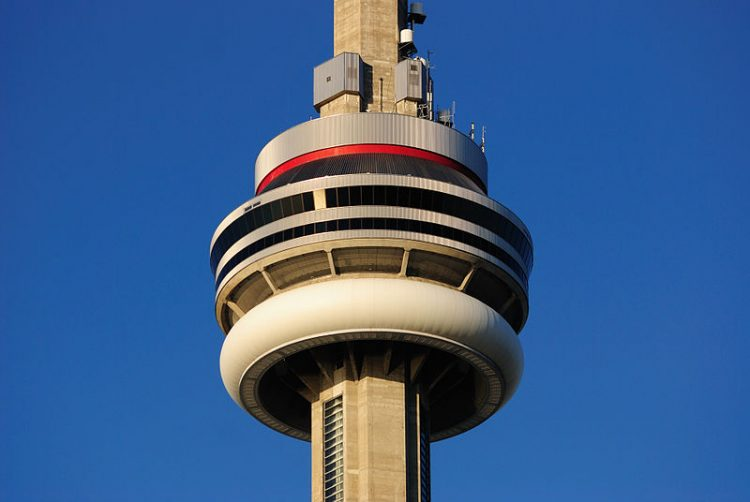 Toronto - CN Tower - CN Tower Edgewalk-Edge Walk-360 degree revolving restaurant