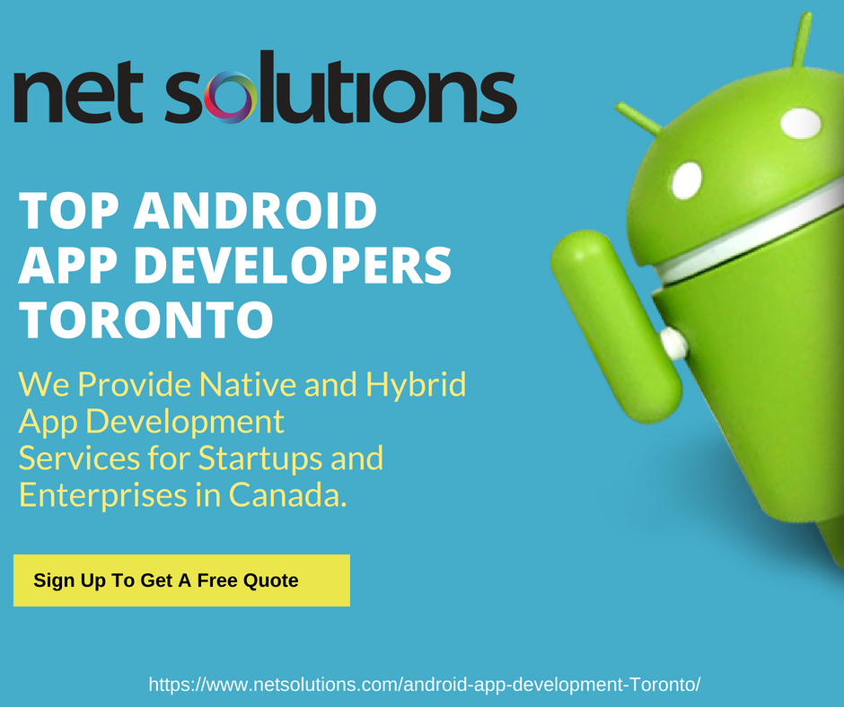Net Solutions: Best Android Development Company in Canada